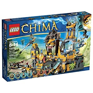 LEGO Chima 70010 The Lion CHI Temple by LEGO Chima