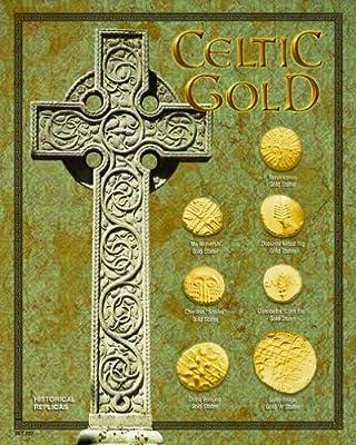 (DM 227) Celtic Gold 8x10