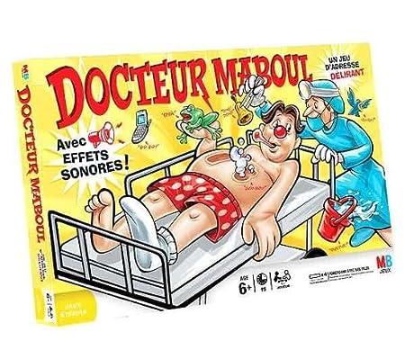 Hasbro - 401981010 - Jeu d'Action Et De Réflexe - Docteur Maboul