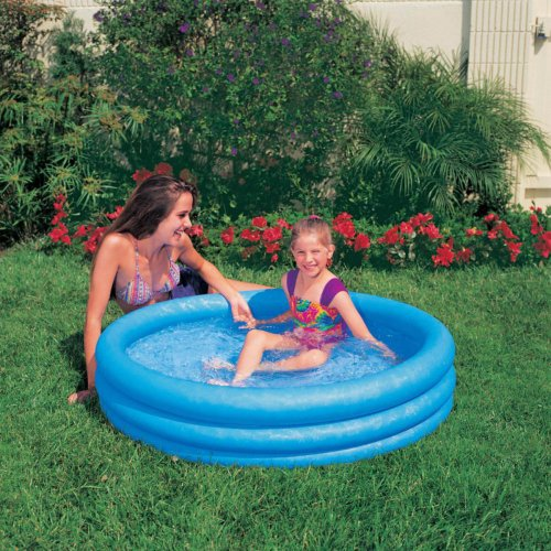 Intex Kiddie Pool -  - Inflatable Crystal Blue Swimming Pool For Children (45in X 10in) at Sears.com