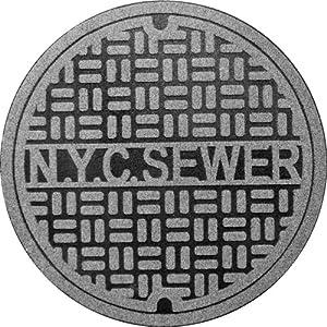Fred Feet First Manhole Mat NY