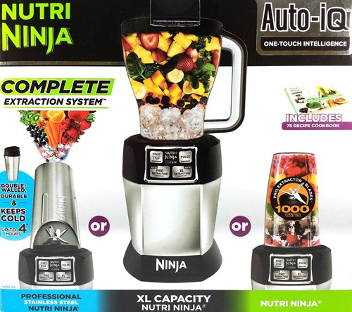 Review Of Nutri Ninja Blender Auto-IQ Complete Extraction System 1000W Professional BL486