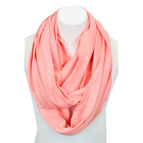 Light Weight Soft Infinity Solid Color Jersey Fashion Scarf Shawl Wrap Loop