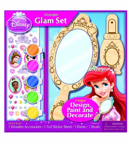 Bendon Disney Princess Wooden Color and Craft