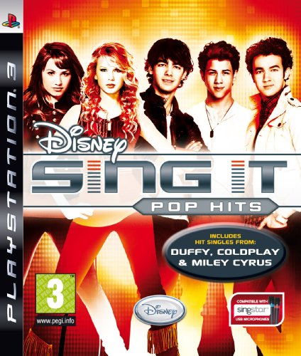 Disney Sing It: Pop Hits with Disney Sing It and Microphone (PS3)