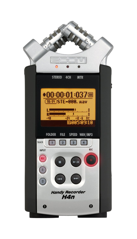 Zoom H4N Digital Multitrack Recorder - 2015 Version
