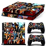 FriendlyTomato PS4 Console and DualShock 4 Controller Skin Set - Anime Super Hero - PlayStation 4 Vinyl