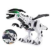 Simulation Dinosaur - Electric Dinosaur Mechanical Pterosaurs with White Spray - Dinosaur Model for Kids (Color: white)
