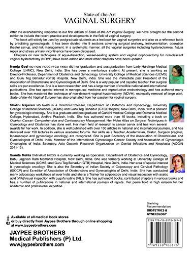 State-of-the-Art: Vaginal Surgery, by Goel Neerja, Rajaram Shalini, Mehta Sumita