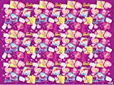 Barbie Design 70 GSM Wrapping Paper, Standard size - Pack of 50