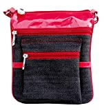 Purseonality Dangle Red Sling Bag For Girls (PL7109)