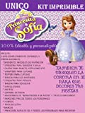 SOFIA PRINCESS PRINTABLE PARTY KIT (4)