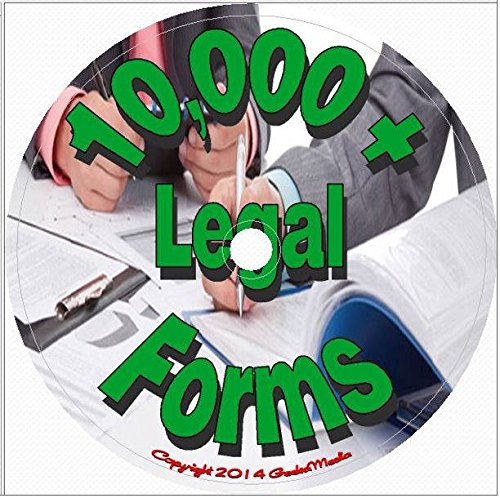 10,000 Printable Legal Forms on Disc
