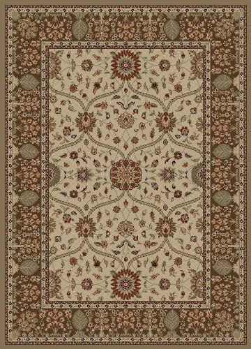Concord Global Rugs Mooresville Collection Arts & Crafts Ivory Rectangle 2'7