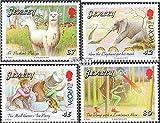 Gran Bretaña-Jersey 1458-1461 (completa.edición.) 2010 Libros infantiles (sellos para los coleccionistas)