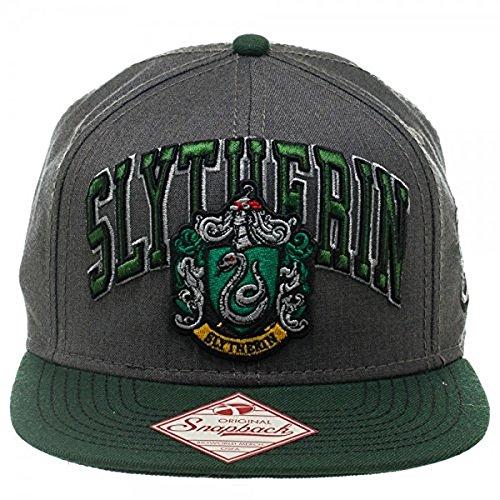 Harry Potter Slytherin Snapback Baseball Cap Hat