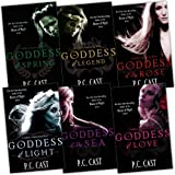 P. C. Cast P. C. Cast Goddess Summoning Series 6 Books Collection Pack Set RRP: £47.94 (Goddess of Spring, Goddess of Light, Goddess of Love, Goddess of the Sea, Goddess of the Rose, Goddess of Legend)