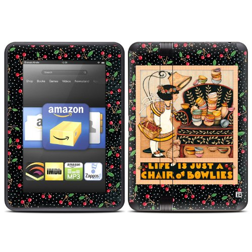 Chair Of Bowlies Design Protective Decal Skin Sticker (High Gloss Coating) For Amazon Kindle Fire Hd 7 Inch (Released Fall 2012) Ebook Reader front-947205