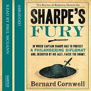 Sharpe's Fury Audiobook