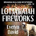 Lottawatah Fireworks: Brianna Sullivan Mysteries Audiobook by Evelyn David Narrated by Lisa Kelly