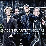 """Afficher """"String quartets, K.387 & 458"""""""