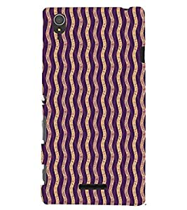 PRINTSWAG PATTERN Designer Back Cover Case for SONY XPERIA T3