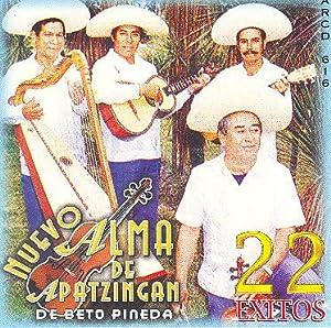 Nuevo Alma De Apatzingan (22 Exitos Yo Vi Nacer Uan Nube) [CD,Best of