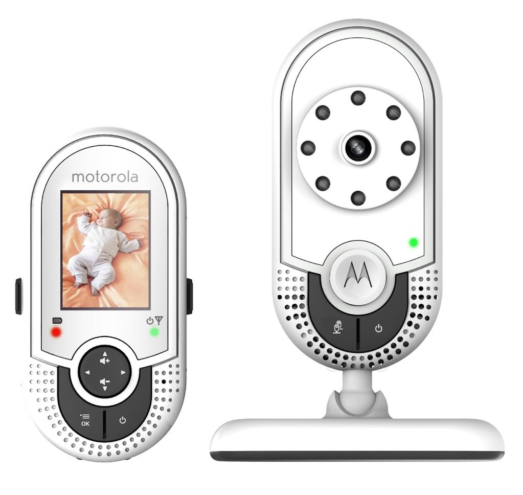 motorola mbp421 video baby monitor with 1 8 inch color lcd scree. Black Bedroom Furniture Sets. Home Design Ideas