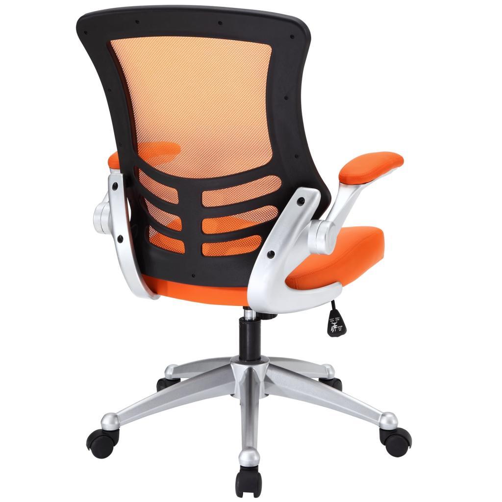 Amazon LexMod Attainment fice Chair with Orange
