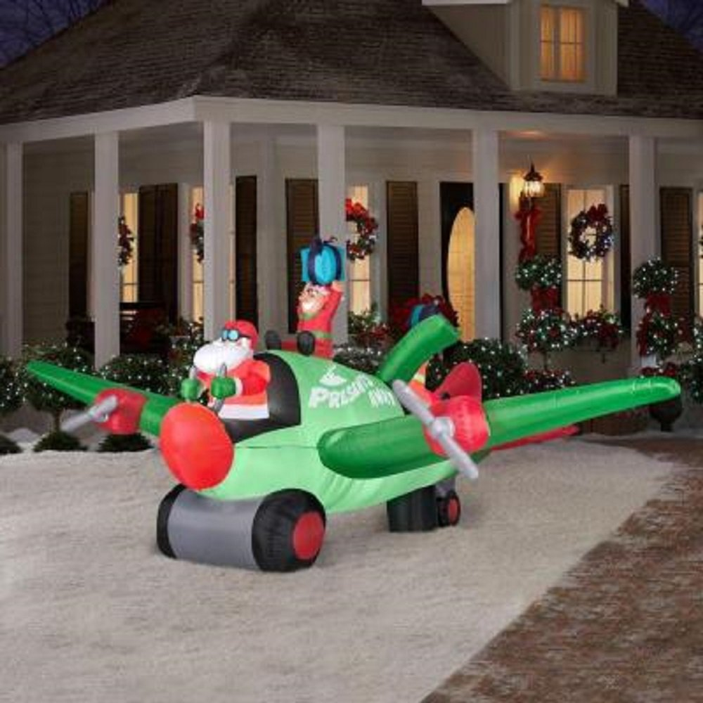 Outside Inflatable Christmas Decorations
