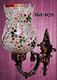 Sge Home Decorative Glass Wall Lamps Hand made(Made in India)