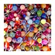 20 Assorted Belly Button Navel Rings Surgical Steel - 14 Gauge 7/16""