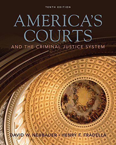 Cengage Advantage Book: America's Courts and the Criminal...