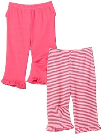 Lamaze Baby-Girls Newborn 2 Pack Pant, Pink, Newborn