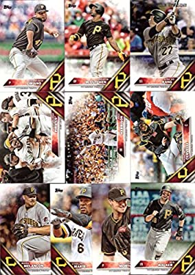 2016 Topps Series 1 Pittsburgh Pirates Baseball Card Team Set - 10 Card Set - Includes Andrew McCutchen, Jung Ho Kang, Francisco Cervelli, Neil Walker, Francisco Liriano, and more!