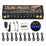 Guitar Pedal Power Supply Station Distributor 10 Isolated Outputfor 9V/12V/18V Effect Pedal with USB Port for Charging Mobile Phone Tablet Isolatedpowersupply CP-04 (Tamaño: 10 output)