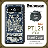 PTL21ケース カバー/VEGA PTL21 ハードケース/【sick】1004_tribe skeletons flyerimage[Neo-Classic]/CR【デザイナー】