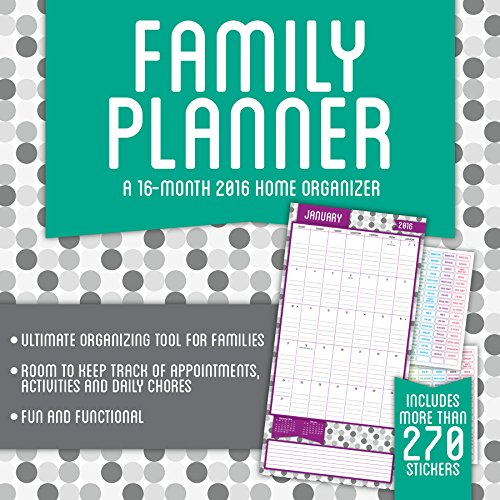 Family Planner 2016 Calendar