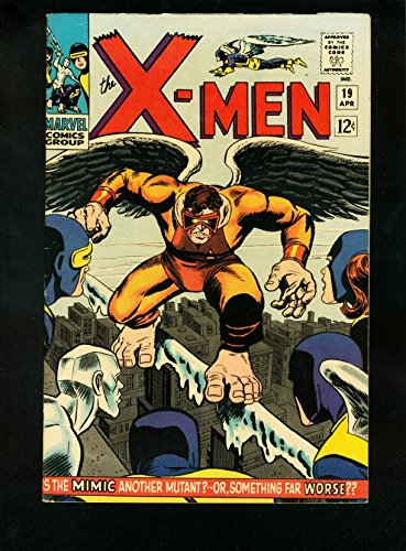 X-MEN #19 1966-1st MIMIC-SILVER AGE MARVEL VF (Marvel Mimic compare prices)