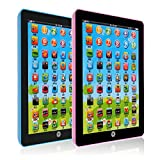Early Learning Ipad, Sanheshun Y Pad Kid Children Learning English/Chinese Educational Computer Tablet Toy Xmas...