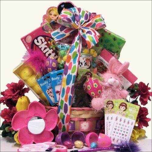 Egg-streme Glamour Girl: Easter Gift Basket for