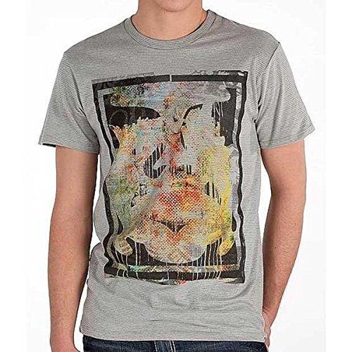 (オベイ) obey メンズ トップス Tシャツ OBEY Andre Splat Ministripe T-Shirt 並行輸入品
