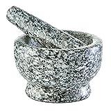 Zeller 24503 Mörser und Stößel Set, Granit, grau