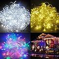 QINUKE 24V Waterproof Fairy lights Christmas Lighting LED String Lights for Christmas Trees Party Wedding Garden