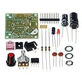 Eachbid 3.5mm 3-12V Mini Audio Power Amplifier Module Board with DIY Kit