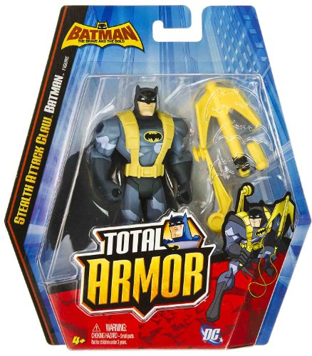 "Stealth Attack Claw Batman ~5"" Figure: Batman The Brave and the Bold Total Armor Series at Gotham City Store"