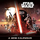 img - for Star Wars Episode VII 2016 Deluxe Wall Calendar book / textbook / text book