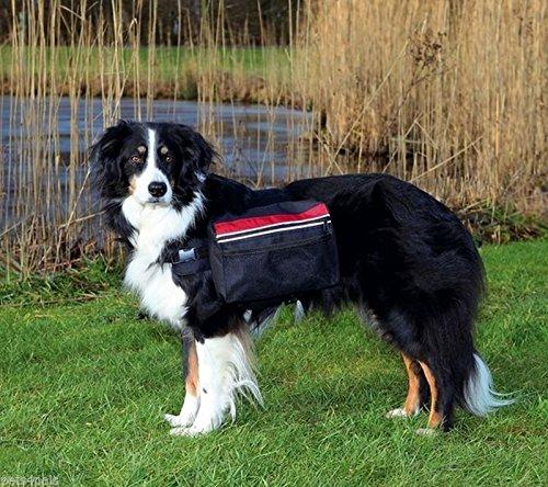 Artikelbild: Trixie 30103 Rucksack für Hunde, L: 28 × 18 cm, schwarz