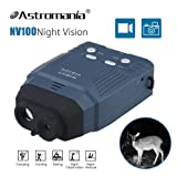 Astromania Portable Digital Night Vision Monocular New Optics Records Video Image with Micro Sd Card (Color: Monocular)