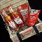 Nando's Hot Peri-Peri Lovers Luxury Hamper -Hot Sauce, Marinade, Coat 'n Cook & Seasoning Rub - By Moreton Gifts